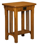 Craftsman Mission Telephone Stand