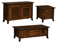 Dresbach Cabinet Occasional Table Set