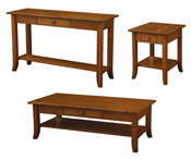 Dresbach Open Occasional Table Set