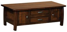 Grand Teton Cabinet Coffee Table