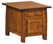Henderson Cabinet End Table