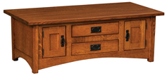 IH Arts & Crafts Cabinet Coffee Table