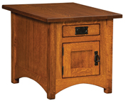 IH Arts & Crafts Cabinet End Table