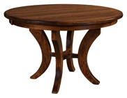 Jessica Single Pedestal Dining Table
