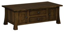 Lakewood Cabinet Coffee Table