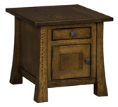 Lakewood Cabinet End Table