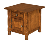 Rock Island Cabinet End Table