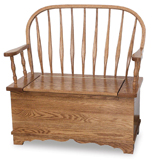 Bent Feather Bow Bench