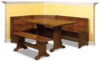 Traditional Raised Panel Nook Set