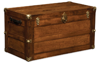 Trunk with Flat Lid Chest