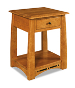 Boulder Creek  1 Drawer Open Night Stand