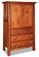 Artesa 3 Drawer 2 Door Armoire