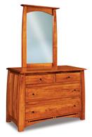 Boulder Creek  4 Drawer Dresser