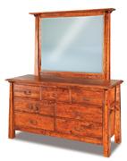 "Artesa 62"" 7 Drawer Dresser"
