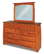 Boulder Creek 9 Drawer Dresser with Jewelry Drawer