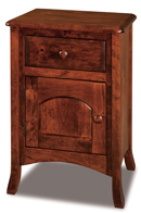 Carlisle  1 Drawer 1 Door Night Stand