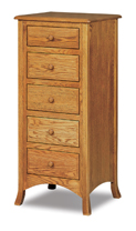 Carlisle  5 Drawer Lingerie Chest