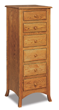Carlisle  6 Drawer Lingerie Chest