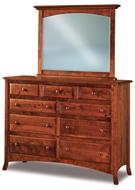 Carlisle  9 Drawer Dresser