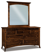 Carlisle  7 Drawer Dresser with Jewelry Drawer