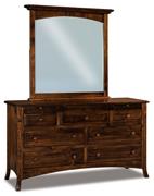 Carlisle  7 Drawer Dresser with Jewelry Drawer
