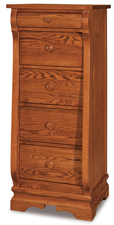 Chippewa Sleigh 5 Drawer Lingerie Chest