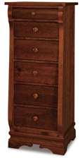 Chippewa Sleigh 6 Drawer Lingerie Chest