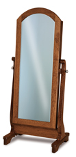 Chippewa Sleigh Beveled Jewelry Mirror