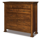 Empire 11 Drawer Double Chest