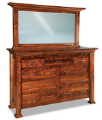 """Empire  71"""" 9 Drawer Dresser with Jewelry Drawer"""