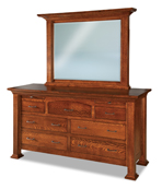 """Empire  71"""" 7 Drawer Dresser with Jewelry Drawer"""