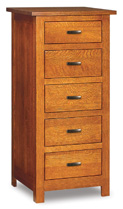 Flush Mission  5 Drawer Lingerie Chest