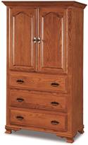 Hoosier Heritage  3 Drawer 2 Door Armoire