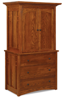 Kascade 3 Drawer 2 Door Armoire