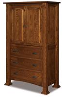 Lexington 3 Drawer 2 Door Armoire