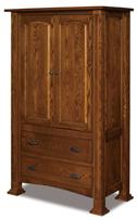 Lexington 2 Drawer 2 Door Armoire