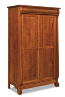 Old Classic Sleigh Wardrobe Armoire