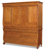 Old Classic Sleigh 2 Piece Deluxe Mule Chest