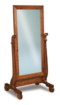 Old Classic Sleigh Cheval Mirror