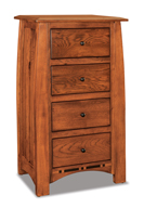 Boulder Creek  4 Drawer Lingerie Chest