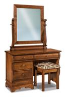 Chippewa Sleigh Vanity Dresser
