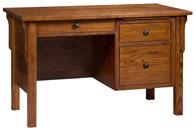 Centennial Single Pedestal Desk
