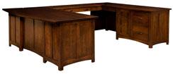 Oakwood U Desk