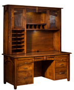 Kensing Wall Desk with Hutch