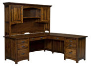 Oakwood L Shaped Desk