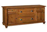 Belmont 4 Drawer 2 DoorCredenza