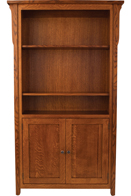 Boston Bookcase with Doors