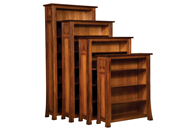 Bridgefort Mission Bookcase