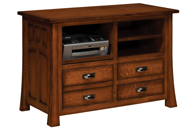 Bridgefort Mission Lateral  File Combo Cabinet