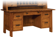 "Freemont Mission 28"" File Desk"